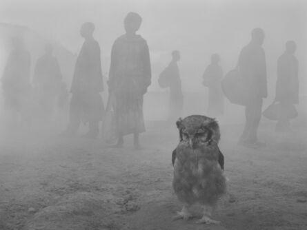 Nick Brandt, 'Harriet and People in Fog', 2020