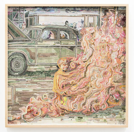 C.K. Wilde, 'Emptiness Portrait of Thich Quang Duc', 2006