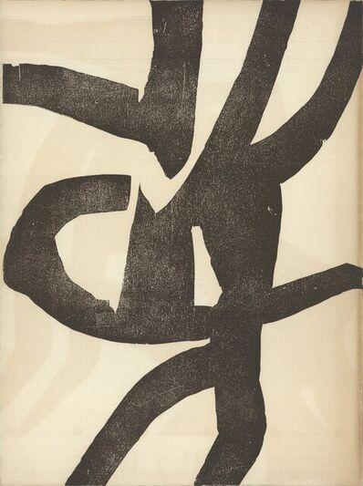 Eduardo Chillida, 'DLM no 90-91 Back Cover', 1956