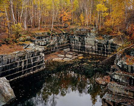 Edward Burtynsky, 'Vermont Marble Company #5, Abandoned Granite Quarry', 1991
