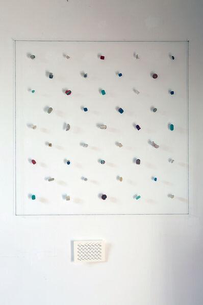 Lorenzo Taini, 'Hanging Repetition Erasers', 2017