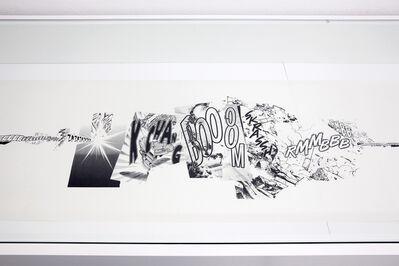 Christian Marclay, 'Manga Scroll (Detail)', 2010