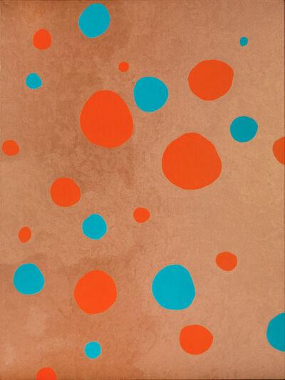 Yayoi Kusama, 'Obliteration of Stars (Copper)', 2010