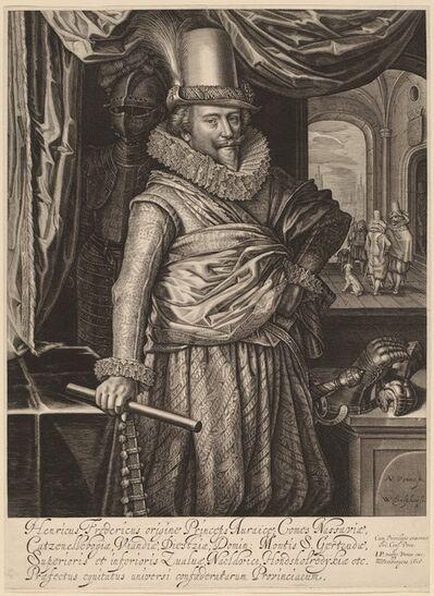Willem Jacobsz Delff, 'Frederik Hendrik, Prince of Nassau-Orange', 1618