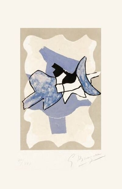 Georges Braque, 'Frontispiece, from La Nuit, La Faim (The Night, The Hunger)', 1960