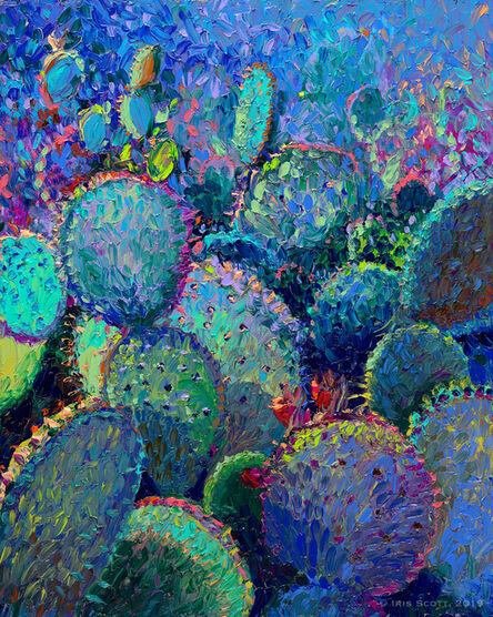 Iris Scott, ' Cactus Refractus', 2018