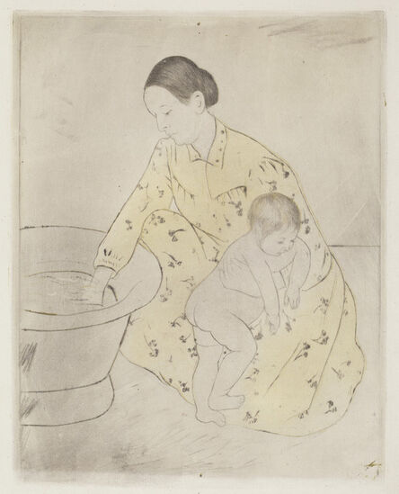 Mary Cassatt, 'The Bath', ca. 1891