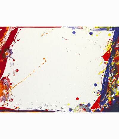 Sam Francis, 'Blue Cut Sail', 1969