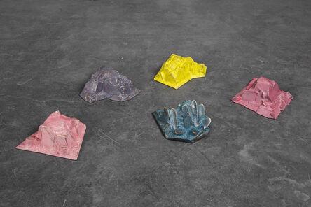 Ayse Erkmen, 'Not the color it is', 2015