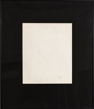 Louise Nevelson, 'Male Nude', 1932