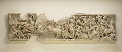 'Front of a Sarcophagus with the Myth of Endymion', ca. 210