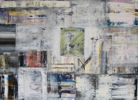 Doug Frohman, 'Dream Map, Oil, Oil-stick, Colored Graphite on Arches Paper', 2011