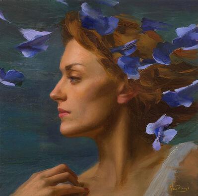 Michael Van Zeyl, 'Kelsey in Blue', 2016