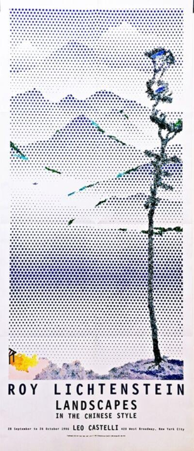 Roy Lichtenstein, 'Landscapes in the Chinese Style Exhibition at Leo Castelli', 1996