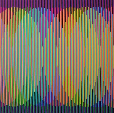 Carlos Cruz-Diez, 'Addition Chromatique Pequeña B ', 2011