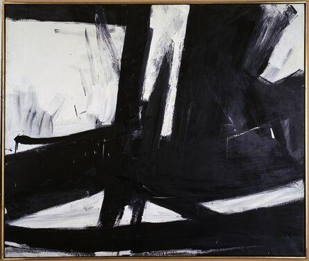Franz Kline, ' Cross Section', 1956