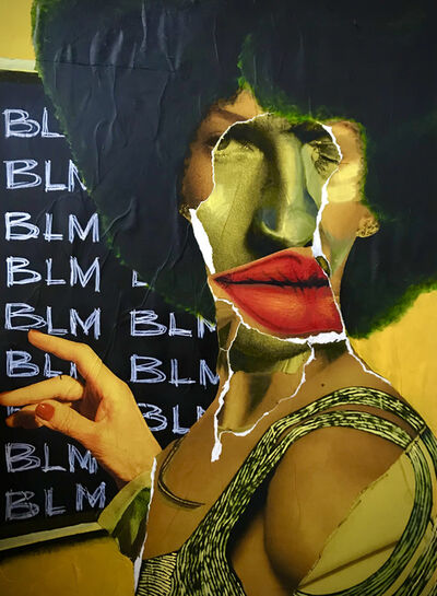 Larry Amponsah, 'BLM', 2020