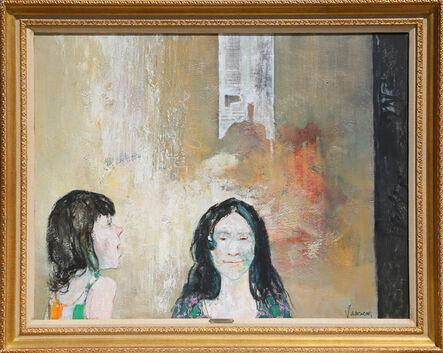 Jean Jansem, 'Deux Enfants', ca. 1965