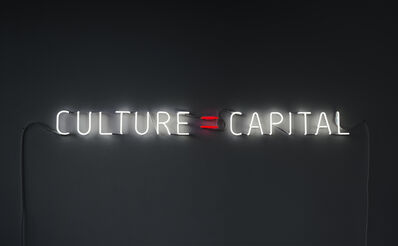 Alfredo Jaar, 'Culture=Capital', 2011