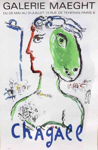 Marc Chagall, 'L'Artist Phoenix Poster (Artist as Phoenix)', 1972