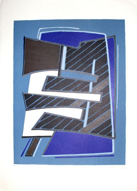 Alberto Magnelli, 'Composizione in Azzurro', 1965