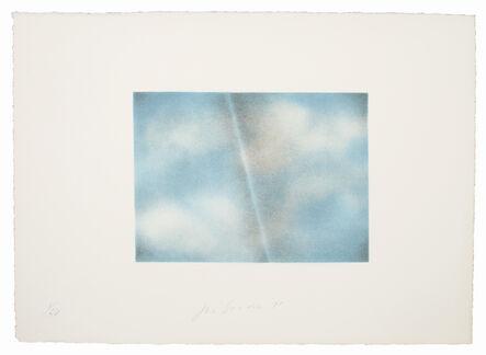 Joe Goode, 'Grey Folded Clouds - II Blue and white', 1971
