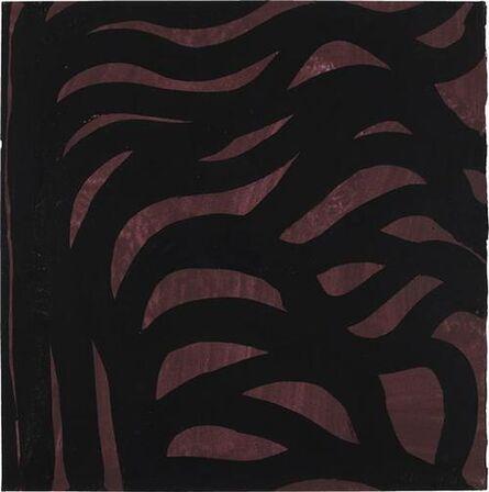 Sol LeWitt, 'Untitled (Purple and Black)', 1999