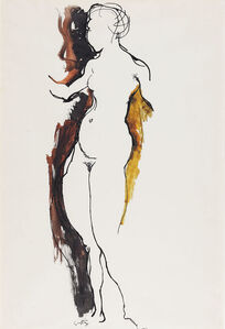 Renato Guttuso, 'Nudo Di Donna', 1962