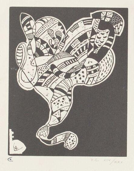 Wassily Kandinsky, 'Surreal Figure', 1942