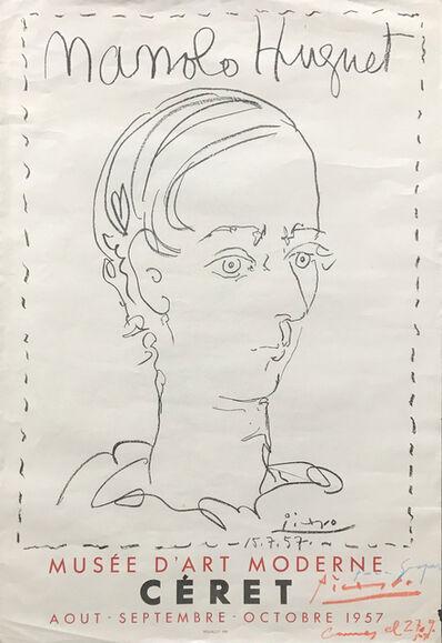 Pablo Picasso, 'Manolo Huguet   Affiche pour le Musée de Céret', 1957