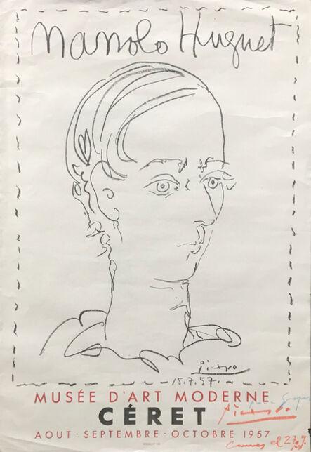 Pablo Picasso, 'Manolo Huguet | Affiche pour le Musée de Céret', 1957