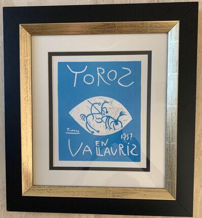 Pablo Picasso, 'Toros En Vallauris 1957', 1959