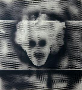 William S. Burroughs, 'Warhol, A Portrait in TV Dots...', 1992