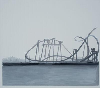 Marco Neri, 'Mirabilandia, la balena bianca', 2020