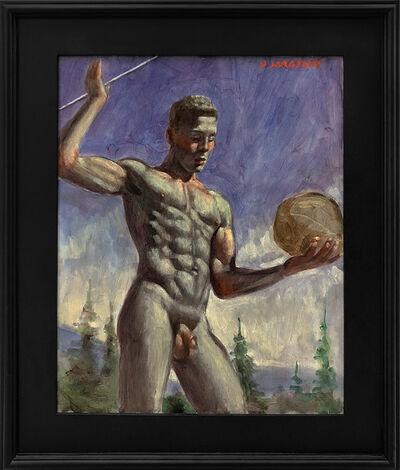 Mark Beard, '[Bruce Sargeant (1898-1938)] Exercising En Plein Air', n.d.