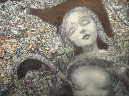 Henry Schwartz, 'untitled (dreaming figure)', 1991
