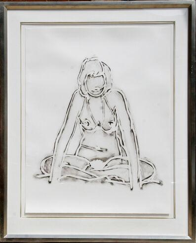 Tom Wesselmann, 'Monica Sitting Against a Wall', 1990