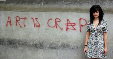 Sarah Maple, 'Art is Crap', 2007