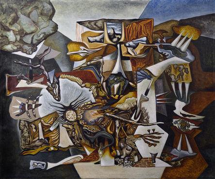 Gunther Gerzso, 'L'ecartelé (El descuartizado)', 1944