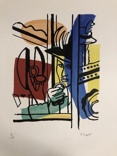 Fernand Léger, 'La Femme au Poudrier', 1959