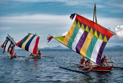 Steve McCurry, 'Boats on the Sulu Sea', 1985