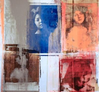 Philip Buller, 'Blue Face', 2018