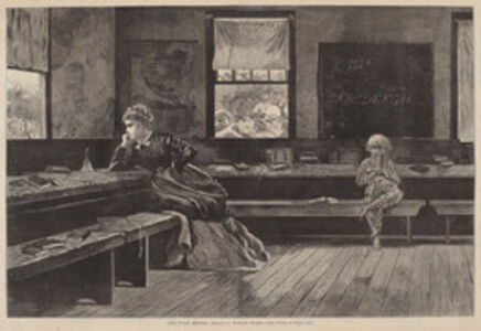 After Winslow Homer, 'The Noon Recess', published 1873