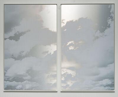 Miya Ando, 'May 11 2021 Kumo (Cloud) Diptych NYC', 2021