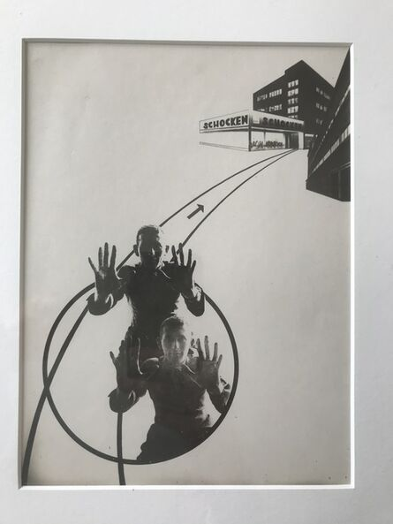 László Moholy-Nagy, 'Advertisement for Shocken Department Store (Variation of the Law of the Series)', 1925