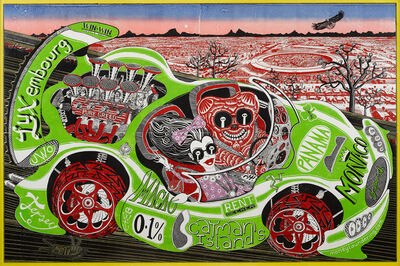 Grayson Perry, 'Sponsored by You', 2019