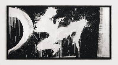 Richard Hambleton, 'Untitled (Jumping Shadow Diptych)', 1997