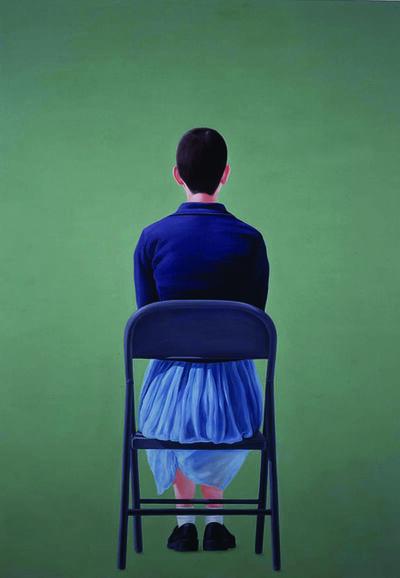 Salomón Huerta, 'Seated Woman, Study', ca. 2001