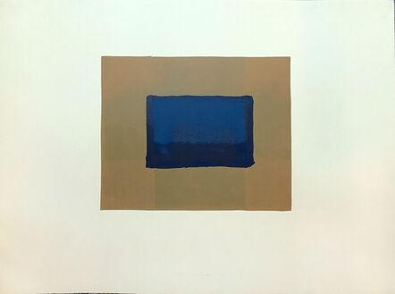 Howard Hodgkin, 'Indian Views – Plate A', 1971