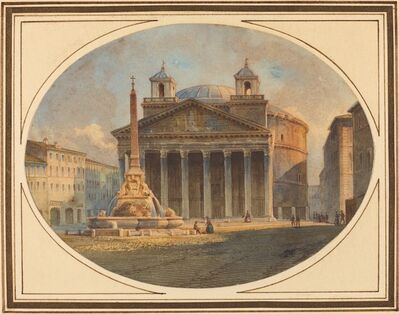 Victor Jean Nicolle, 'The Pantheon'